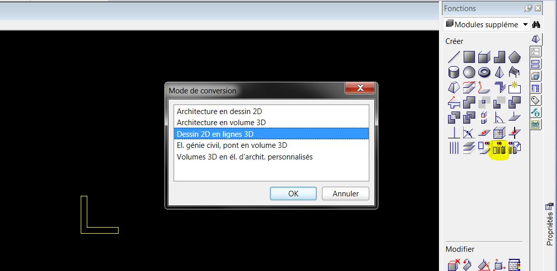 Cr er un profil m tallique 3d et le transformer en macro for Dessins d architecture en ligne